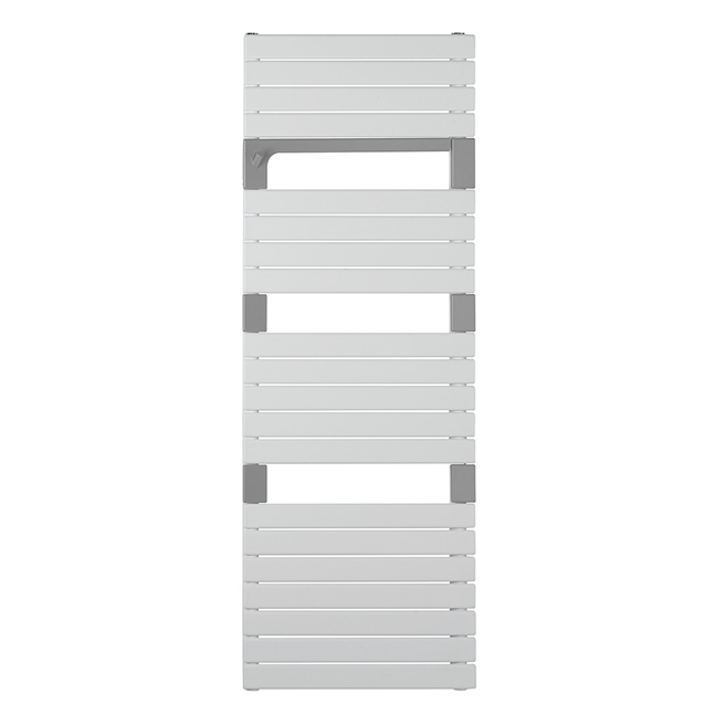 Crosswater Levante Heated Towel Rail with Integrated Swing Towel Rail - 1360 x 550mm